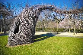 inspiration sculpture by Patrick Dougherty