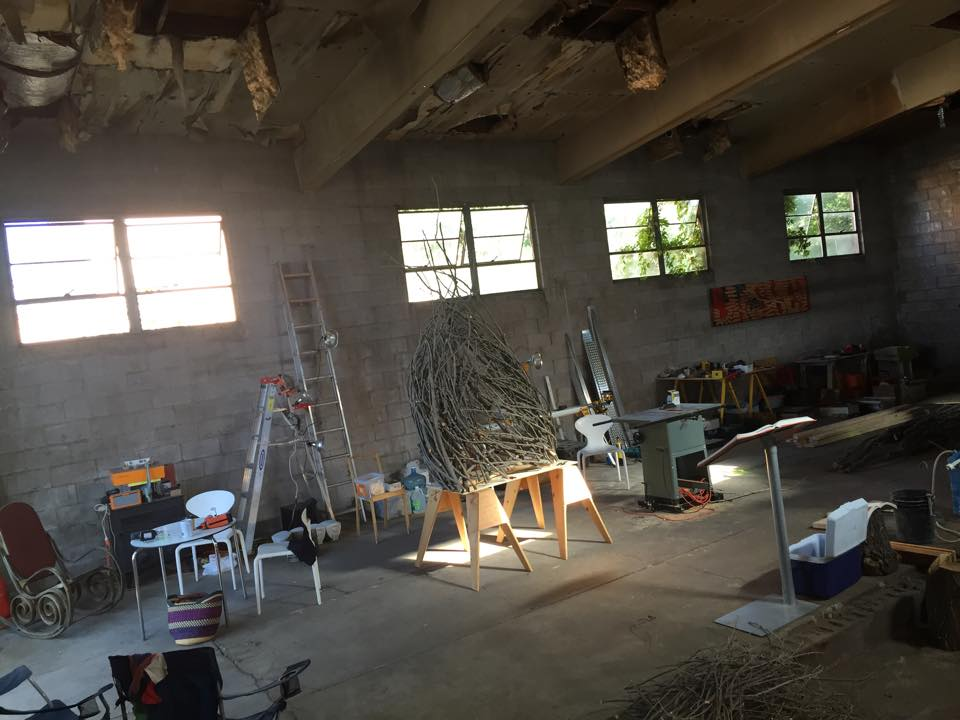 the BoilerRoom sculpture studio