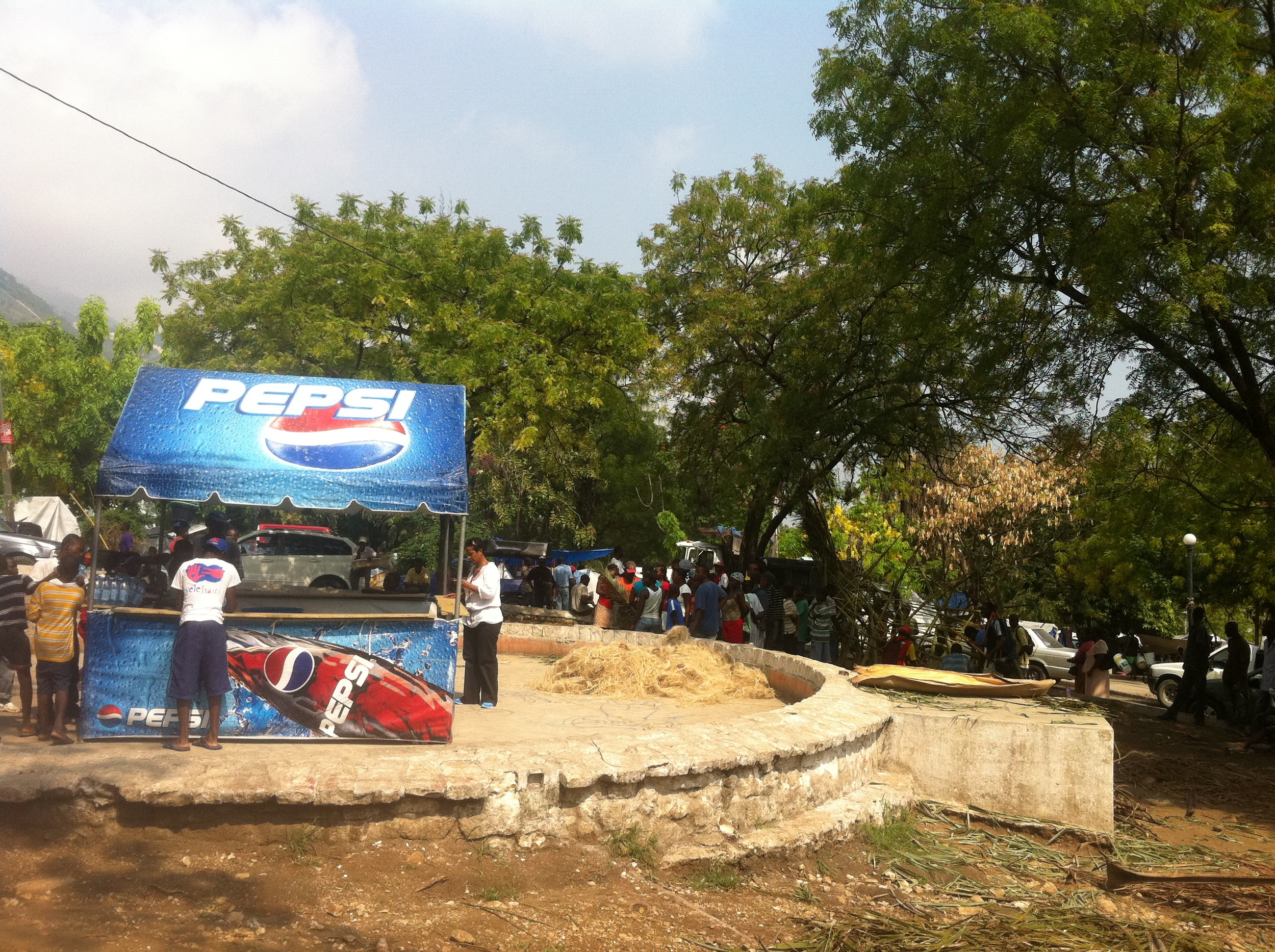 pepsi donated two weeks worth of water