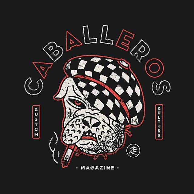 BadDog💥🏁 follow @caballerosmag 💥🏁 . . . #baddog #badass #motorcycle #kustom #kustomkulture #illustration #illustrationart #illustrationoftheday #dog #gang #bobber #magazine #caballerosmag #caballeros #deusart #art #graphicdesign #tattoo #bulldog #traditionaltattoo #ride #rider #fast #rad