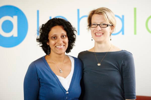 Jessica Strong and Priya Amin, Founders