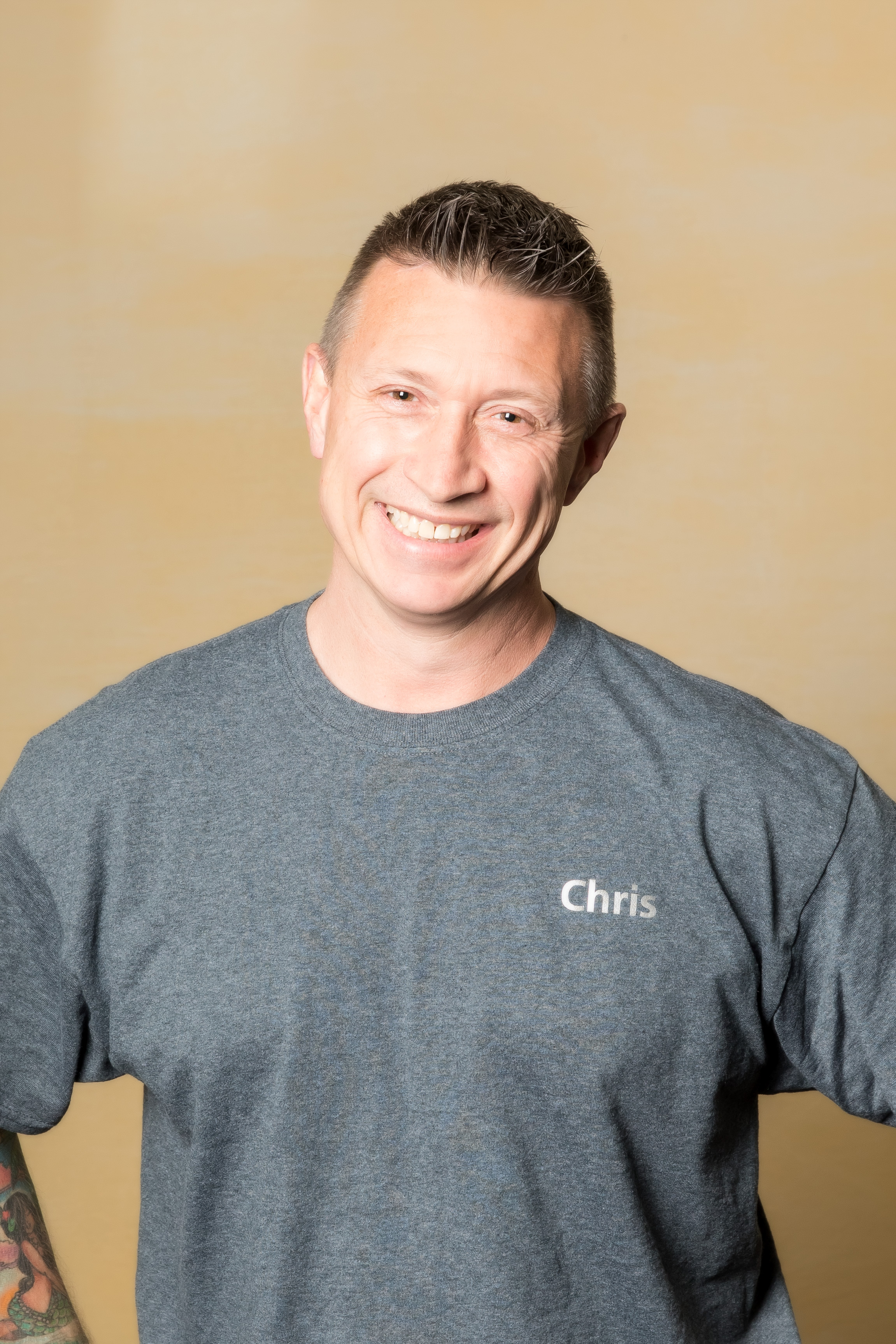 - Tumbling Coach-Chris TalmadgeCoach Chris Talmadge has been teaching gymnastics for over 30 years. He has coached at Tropical and Browns Gymnastics in Orlando, Florida. Coach Chris has been teaching at Footprints for the past 4 years.