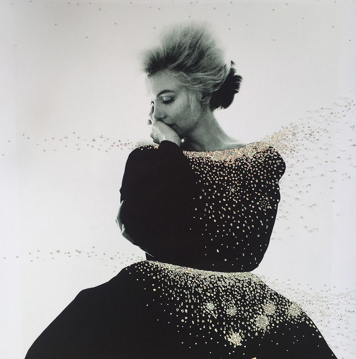 ricordo - VanitartCollezione Le Donne d'EpocaMisura 100x100 cmLavorazione in cristalli Swarovski e Specchi