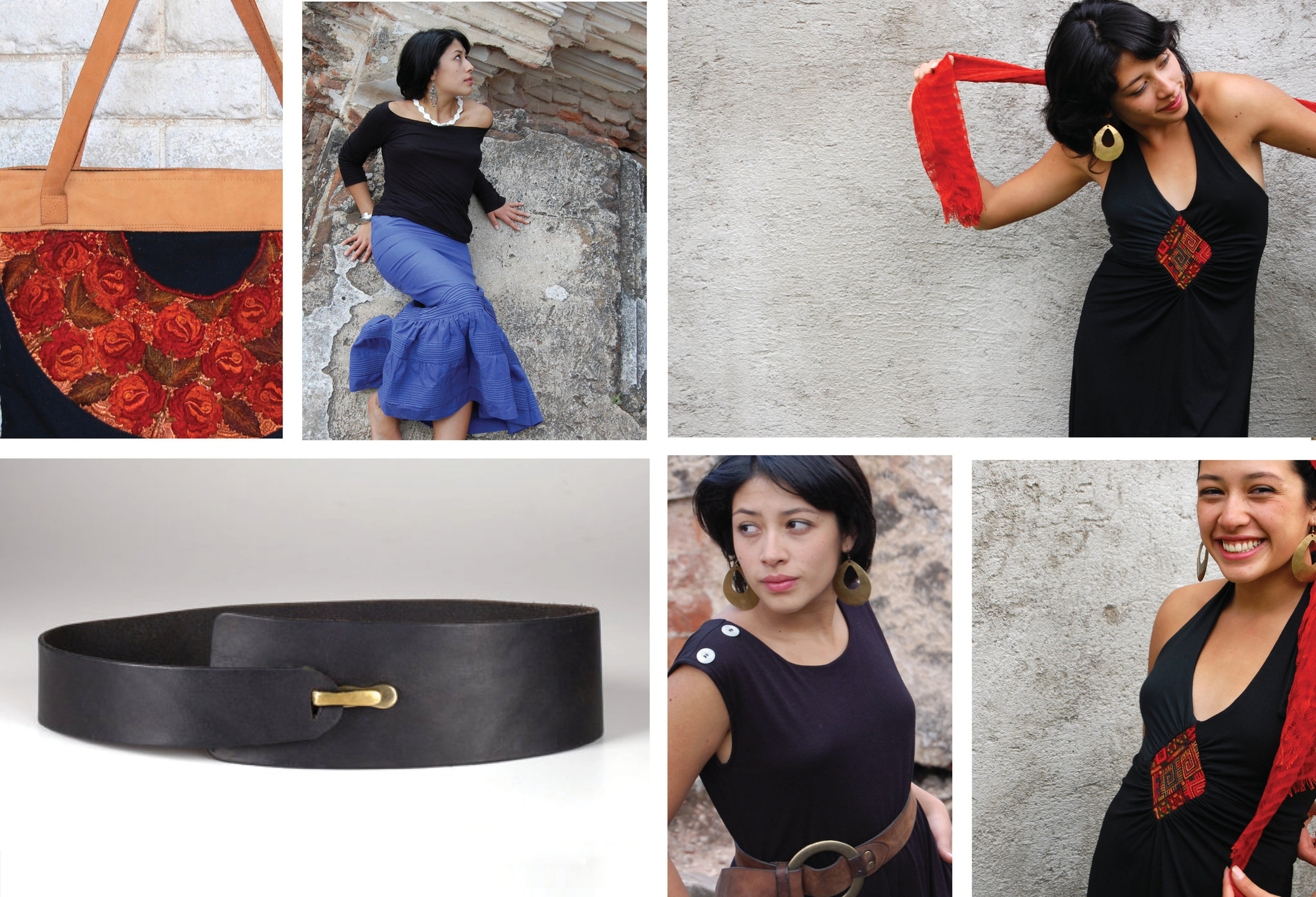These photoshoots captured the carefully designed, socially conscious products designed by Ambos Designs. This socially conscious company produced clothing, accessories and in Guatemala.