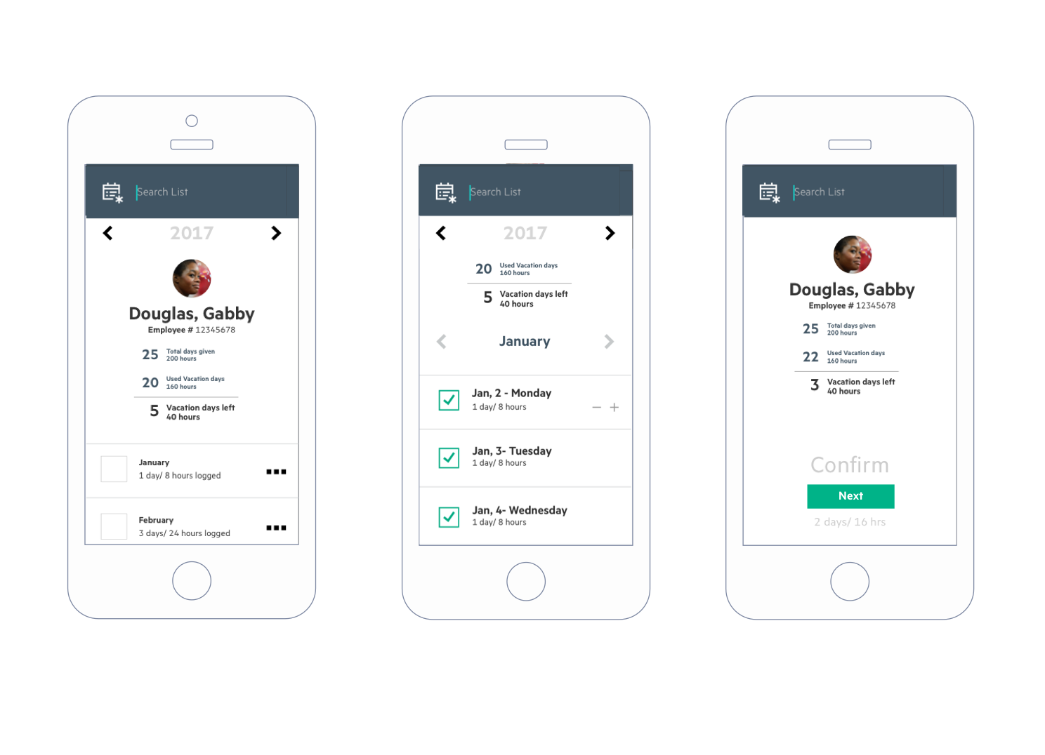 Prototyping on sketch