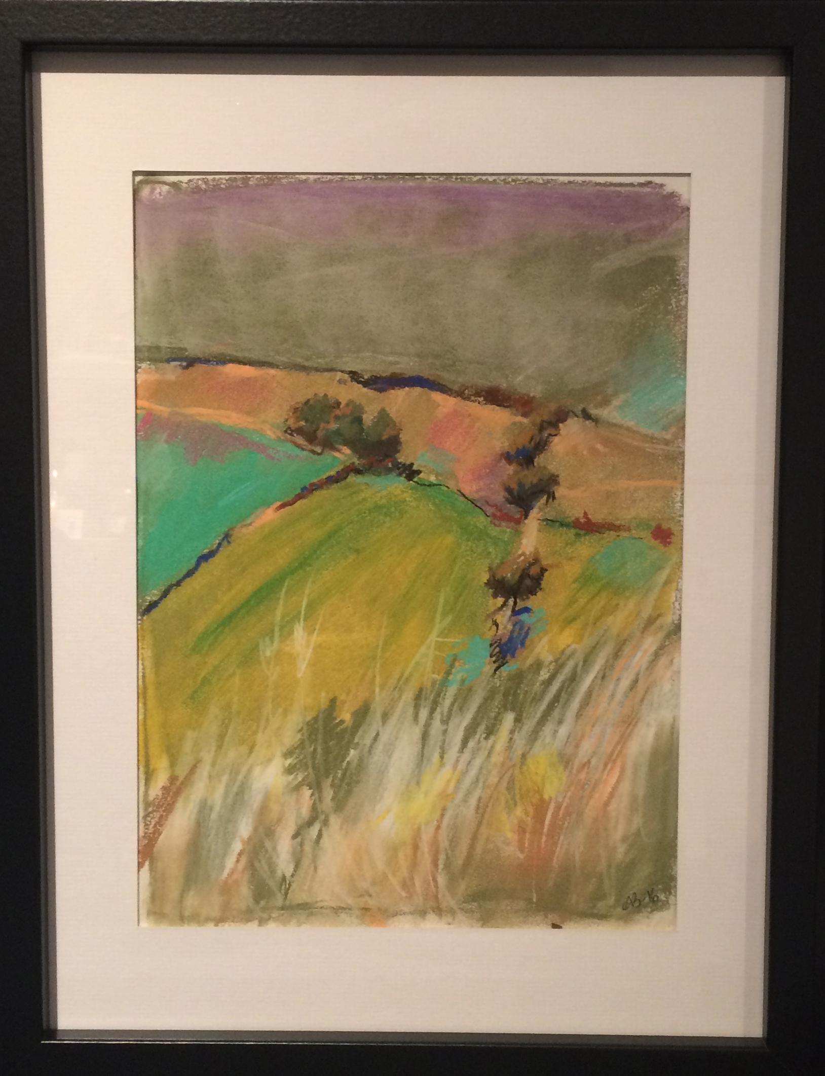 Harvest Pastel Drawing
