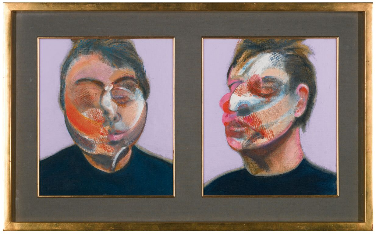 Francis Bacon, Two Studies for a Self Portrait (1970)
