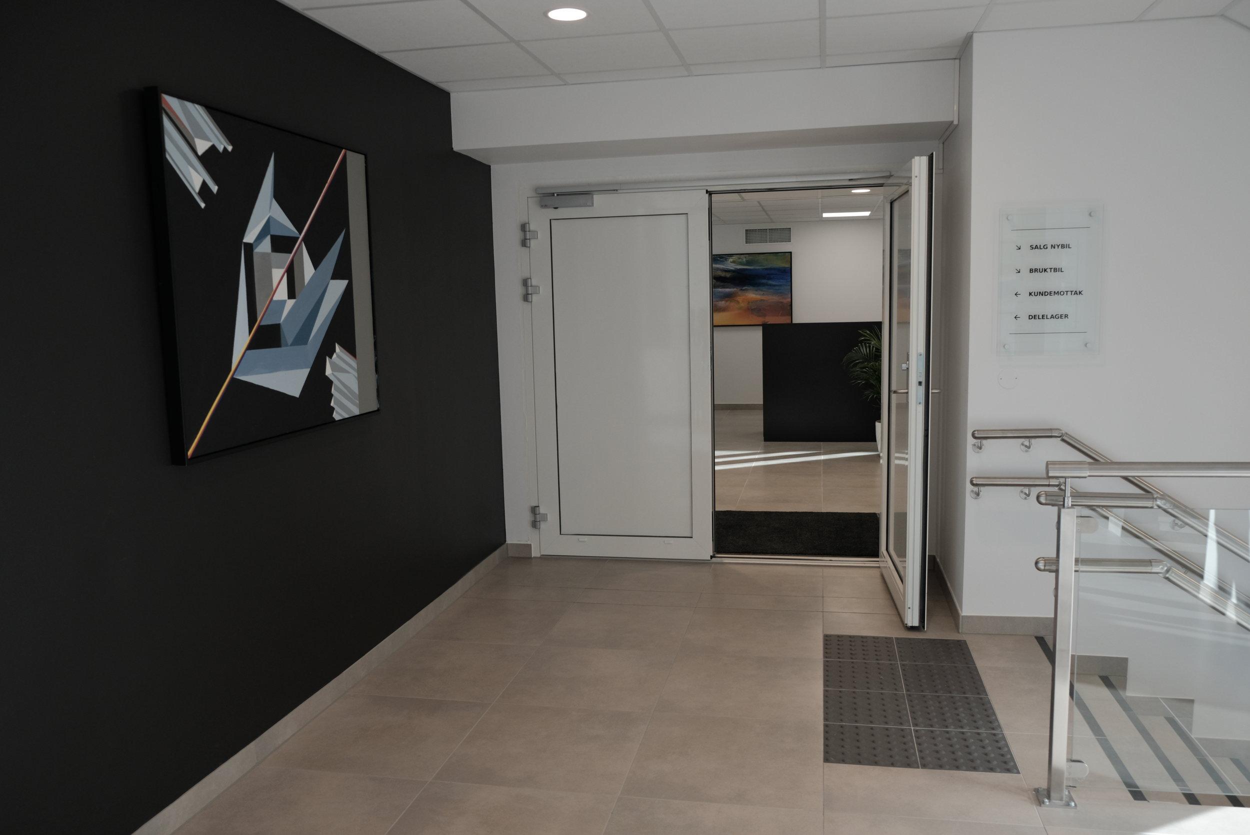 Velkommen til vårt kundemottak i 2. etasje!