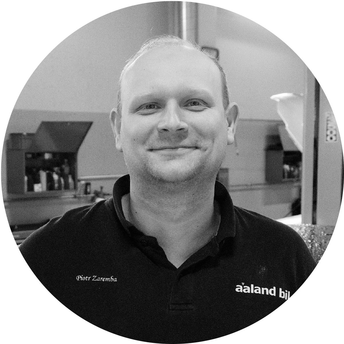 Piotr Zaremba - Tekniker Honda