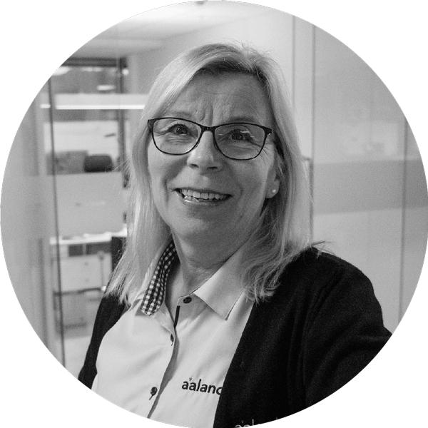 Anne Caspersen,Kunderådgiver - anne@aaland.no / 70158617