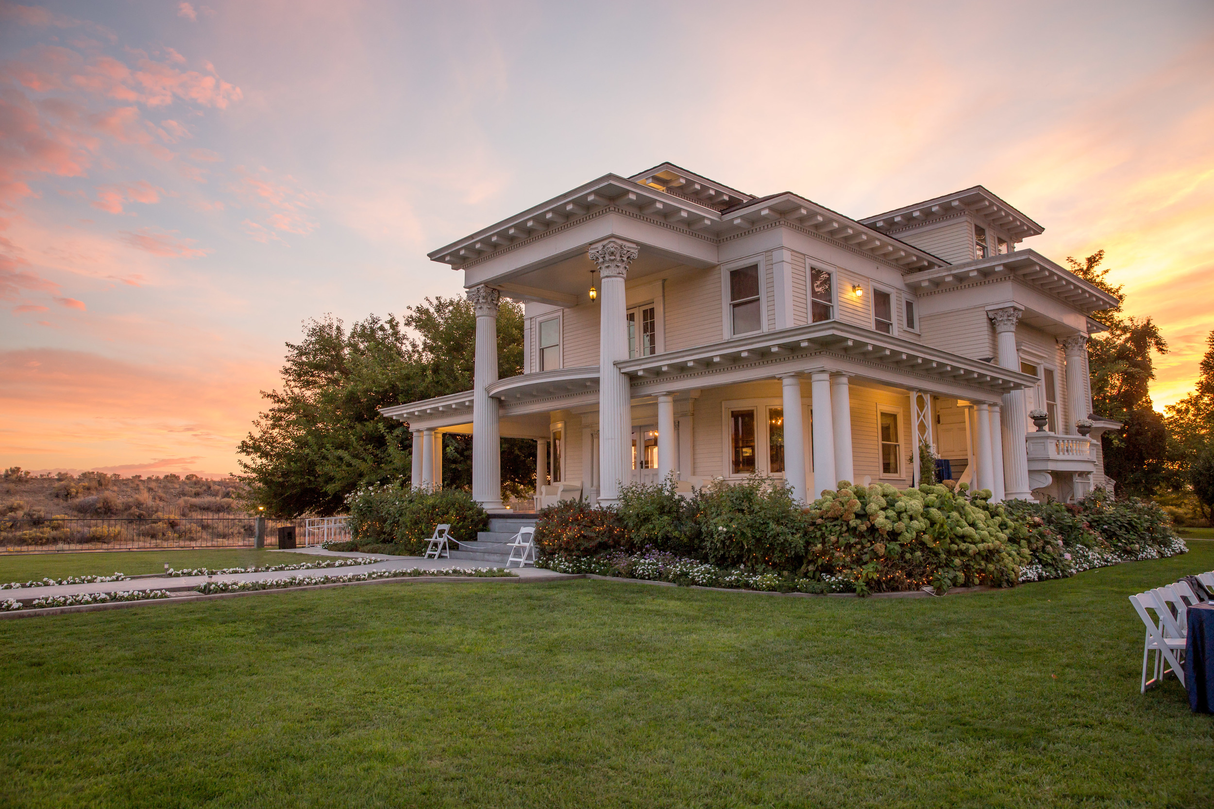 Sunset Moore Mansion