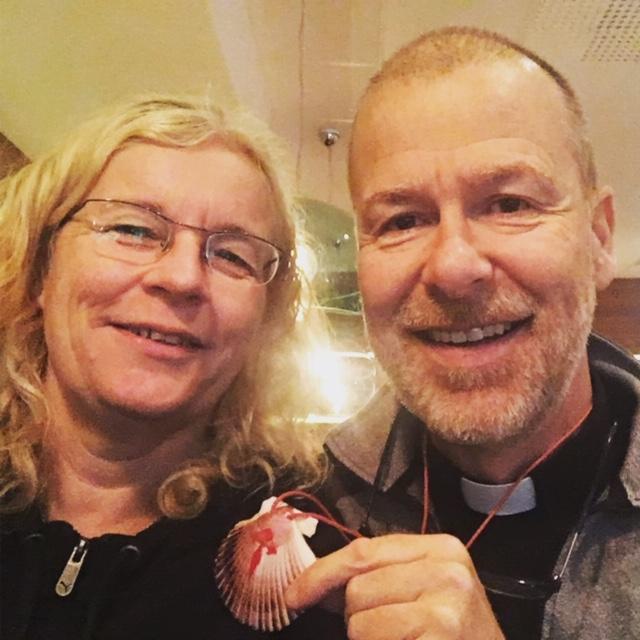 Mitt sista möte med Gösta Tingström. 2 oktober 2017 i Luleå, när han genomförde #pilgrim500.