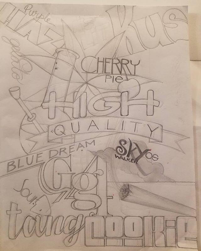 #weedartforlife #typographyart #artwork #artist #weedartpics #typography #artistic  #hybrid #art #weedlife #lettering #weedsociety #weedartist #cherrypie #urbanart #420artist #skywalkerog #kush #purplehaze #weedporn #weedart #420art #420artwork #weedartwork #cannabisculture #art420 #bluedream #gorillaglue #soul #gelato