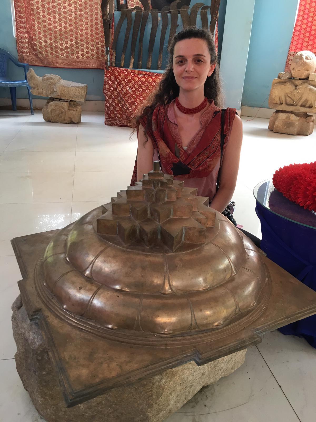 Giant Yantra, Kamakhya museum