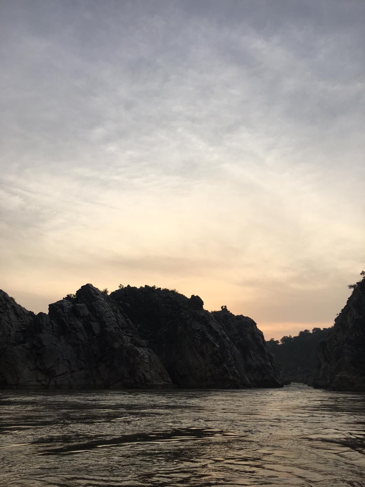 Bhedaghat river narmada