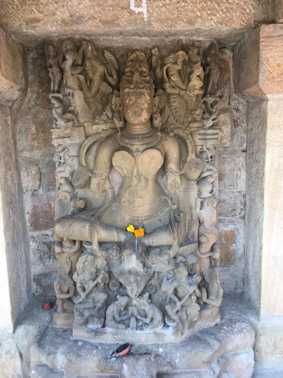 Sacred yogini