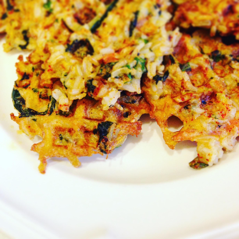 Korean Rice Waffles
