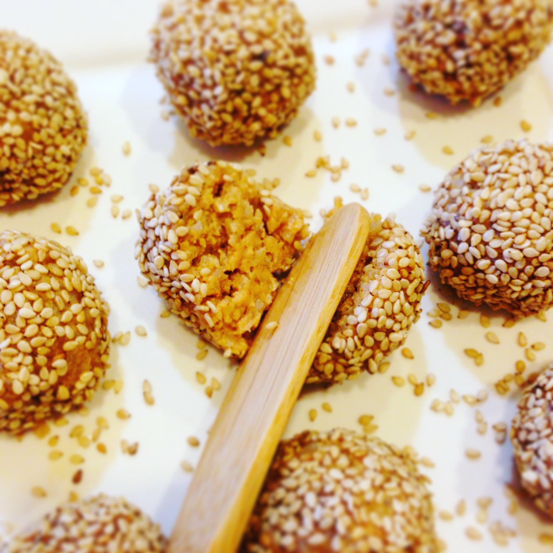 hummus brown rice sesame snacks