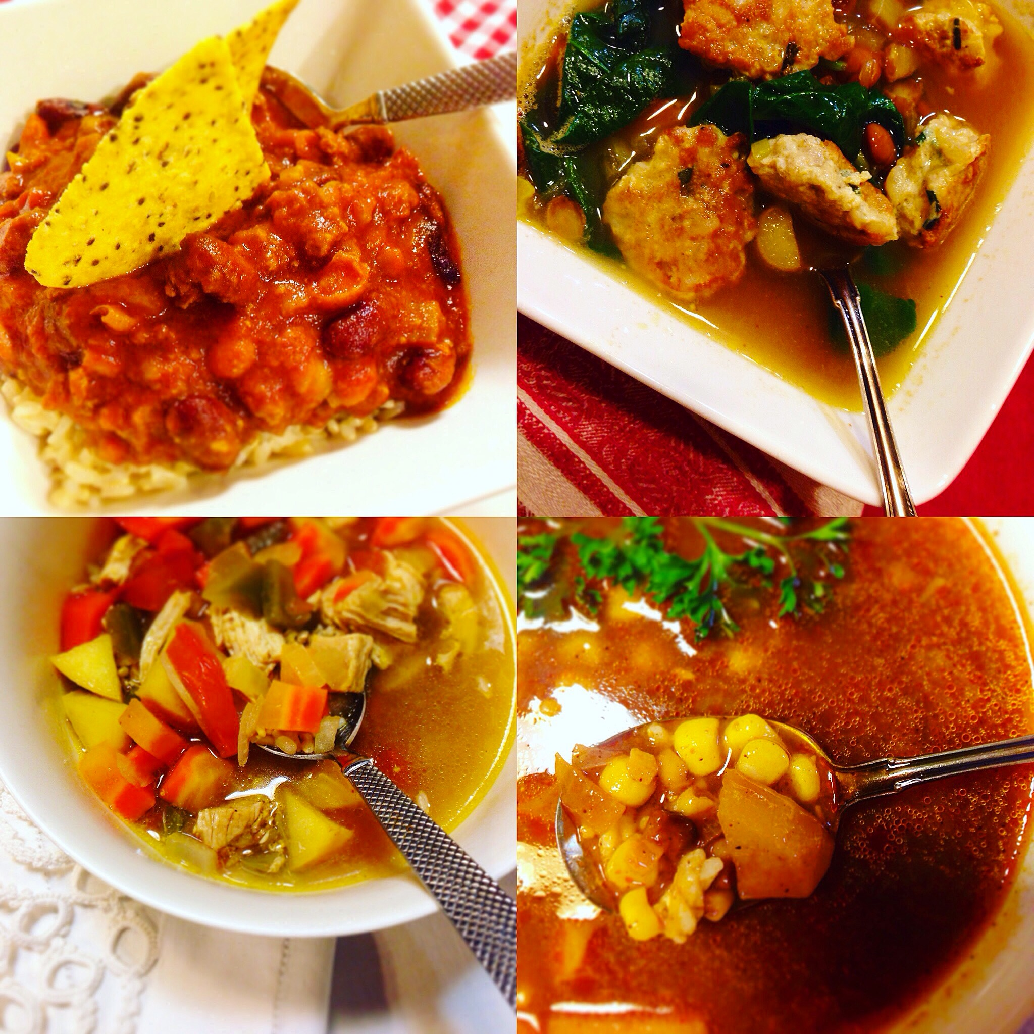 Gluten Free and Dairy Free Soup Recipe Round Up!