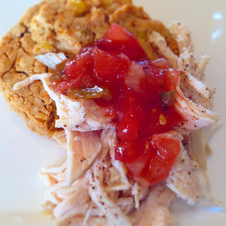 southwest corn chicken shortcake