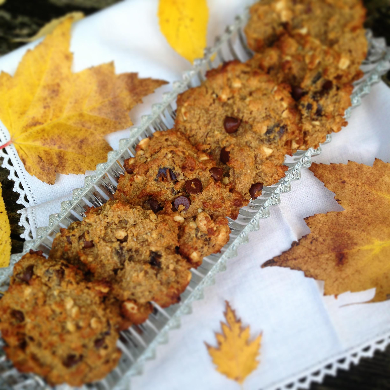 Kat's Peanut Pumpkin Date Protein Cookies