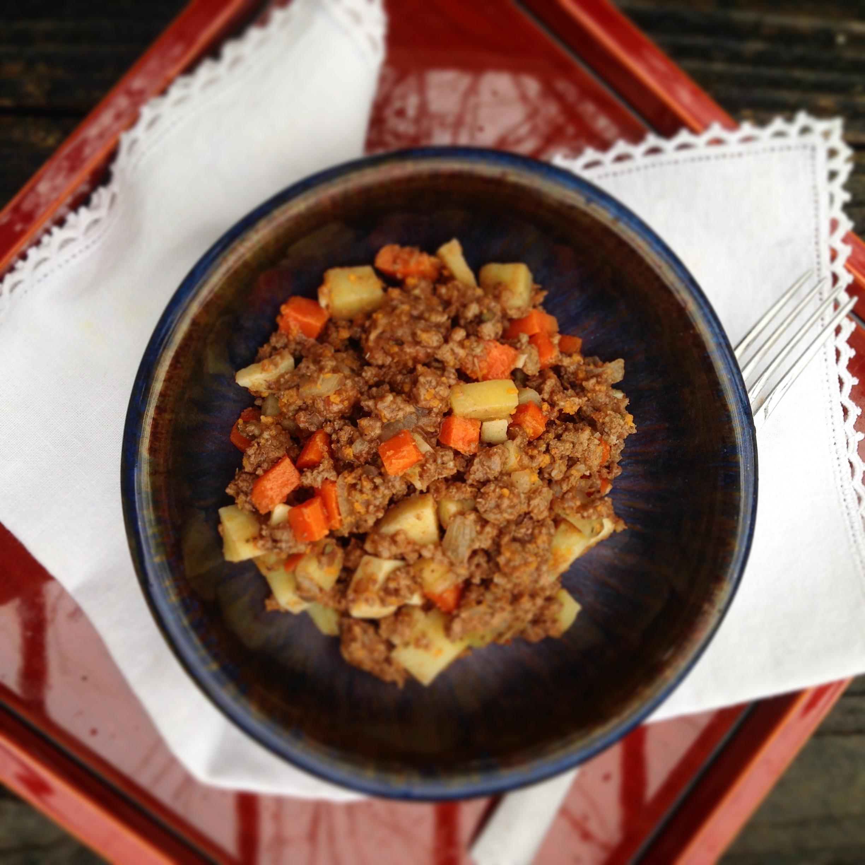 Sweet Potato and Carrot Picadillo