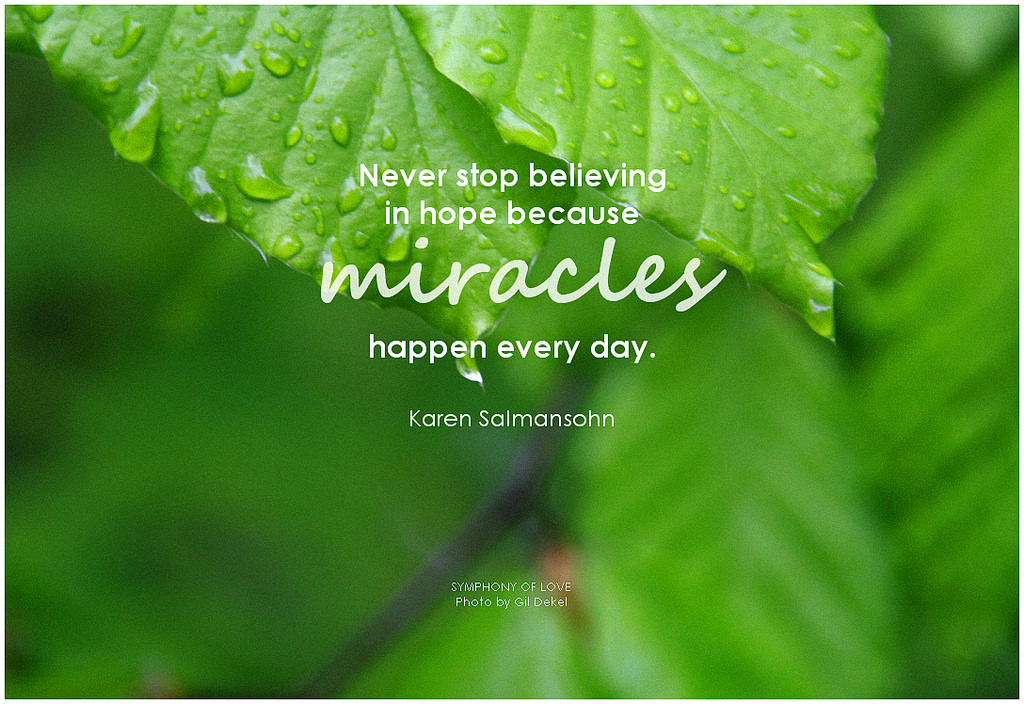 Leave Room for Miracles