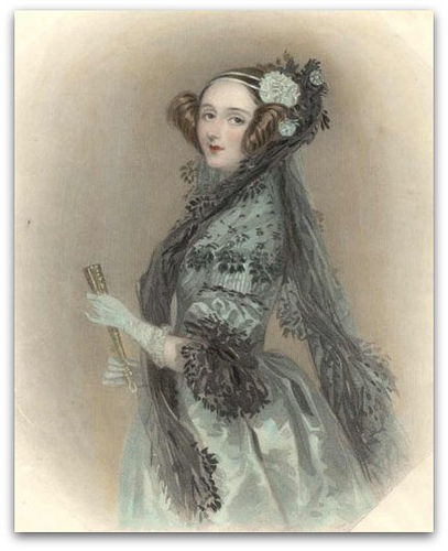 """ Ada Lovelace ,"" by  Angela Thomas  is licensed under  CC BY 2.0 ."