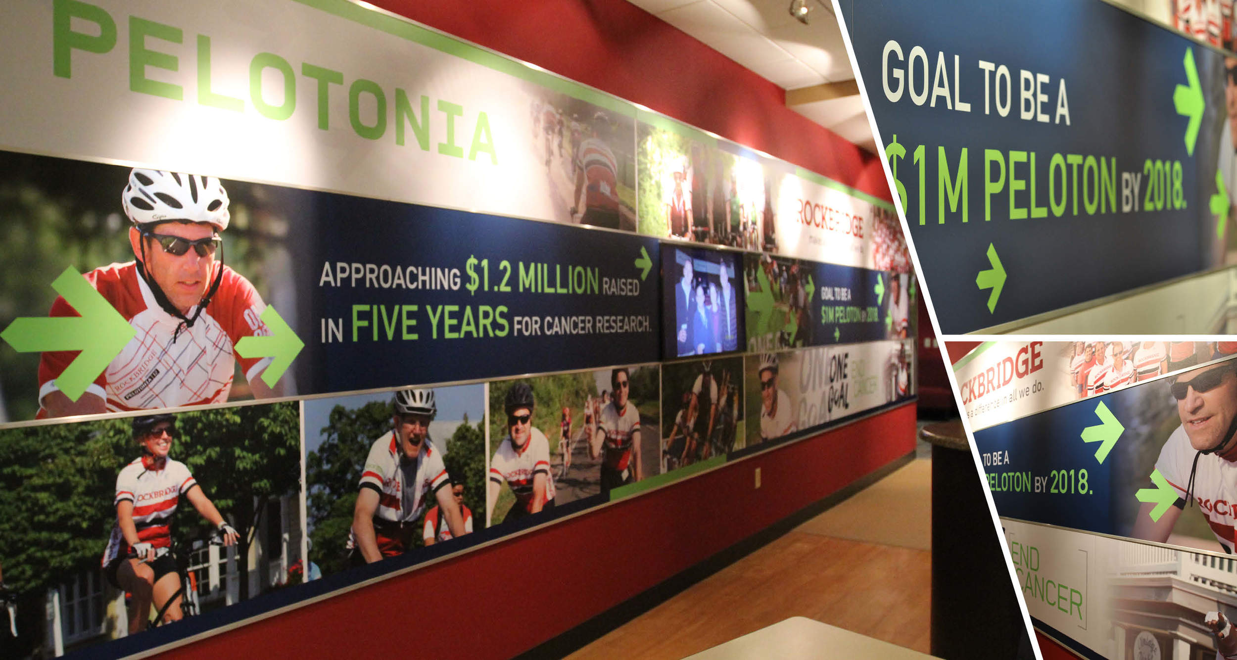 Event Promotional Display  Design, Wall Graphics
