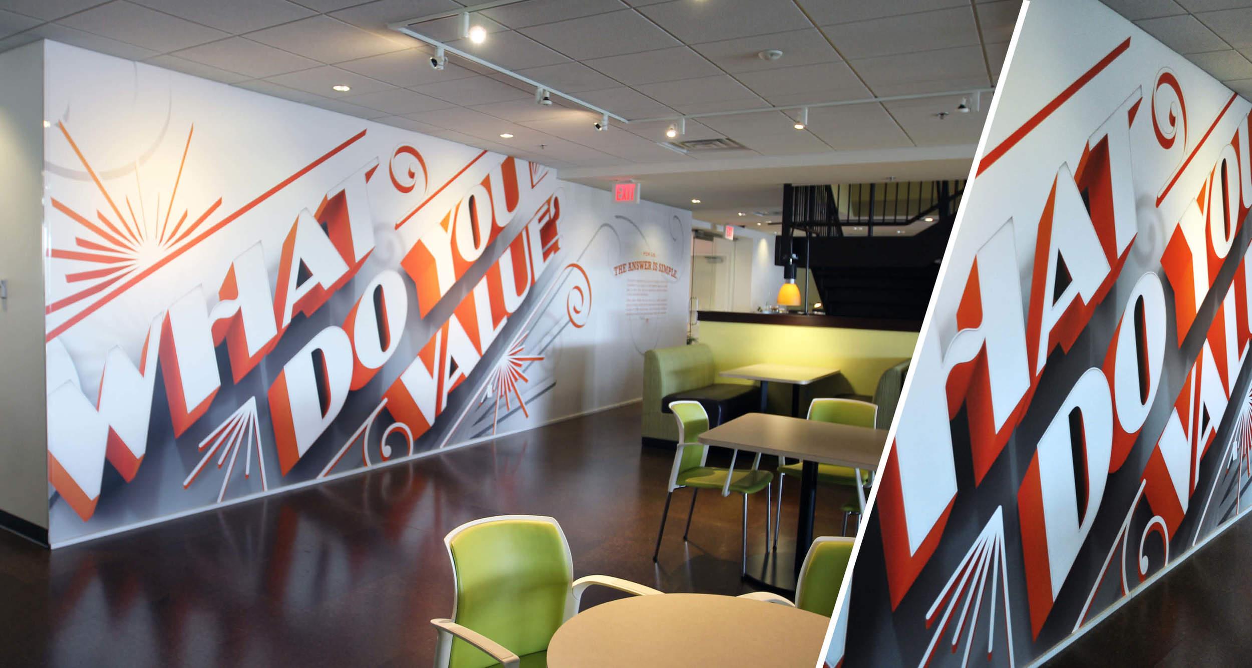 Corporate Branding  Wall Coverings