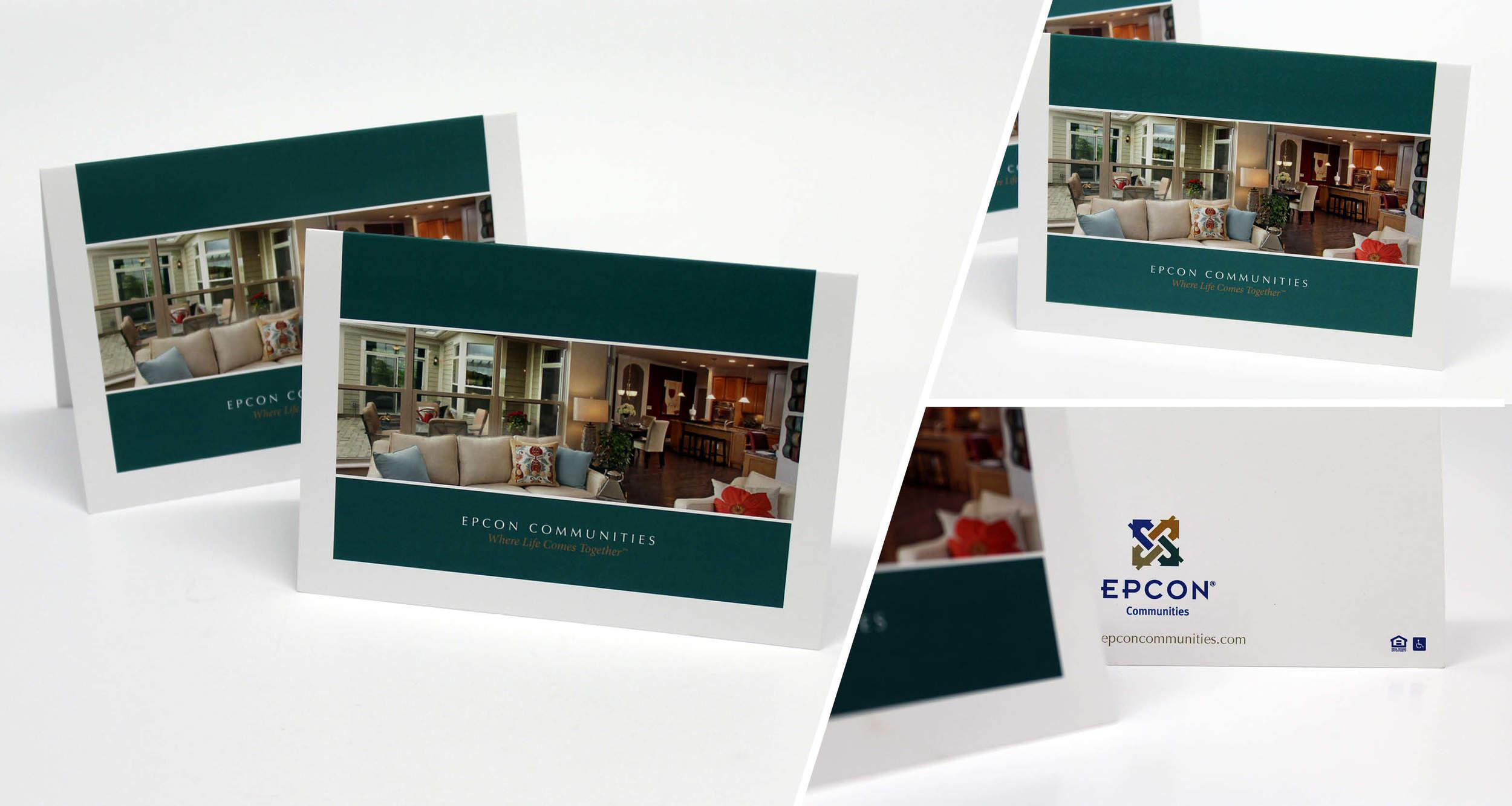 Marketing Foldover Card  Design