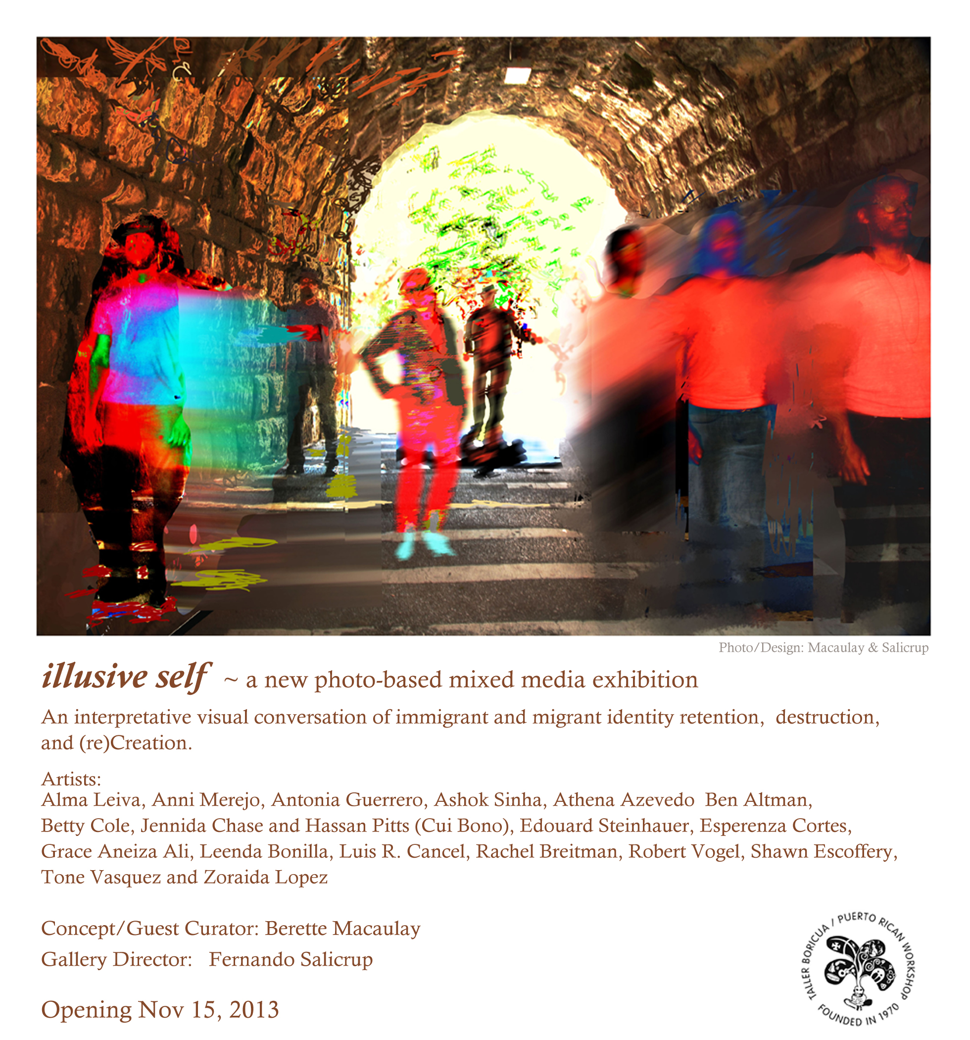 illusive self marketing - show flyer 1*Illusive_Self_Taller_Boricua_©_SeBiArt  007 copy.jpg