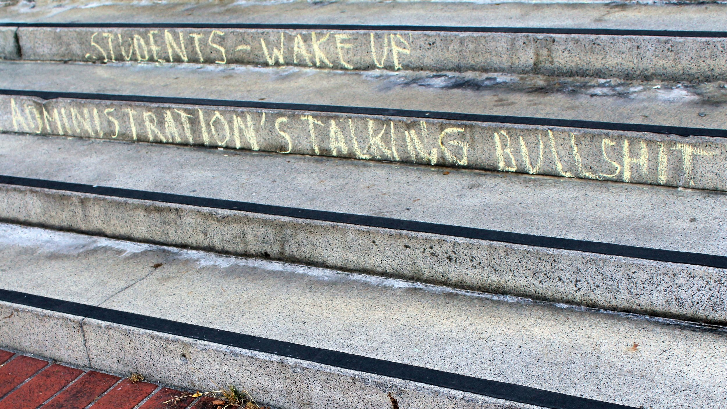 """Photo adapted from  Quinn Dombrowski 's  """"Students - wake up"""""""