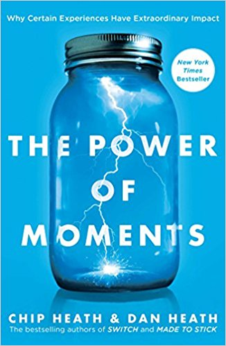 The Power of Moments by Chip Heath and Dan Heath - Publication date: October 3, 2017Publisher: Simon & SchusterAuthor website: heathbrothers.comBUY