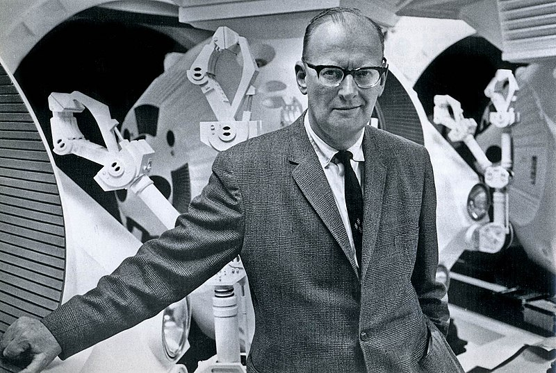 Arthur C. Clarke in 1965  CC BY 2.0