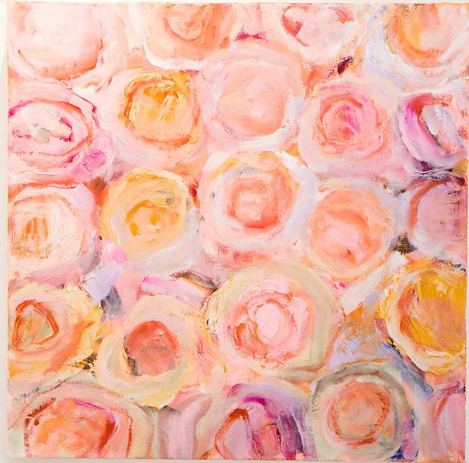 """acrylic on canvas, 20"""" x 20"""", $1250"""