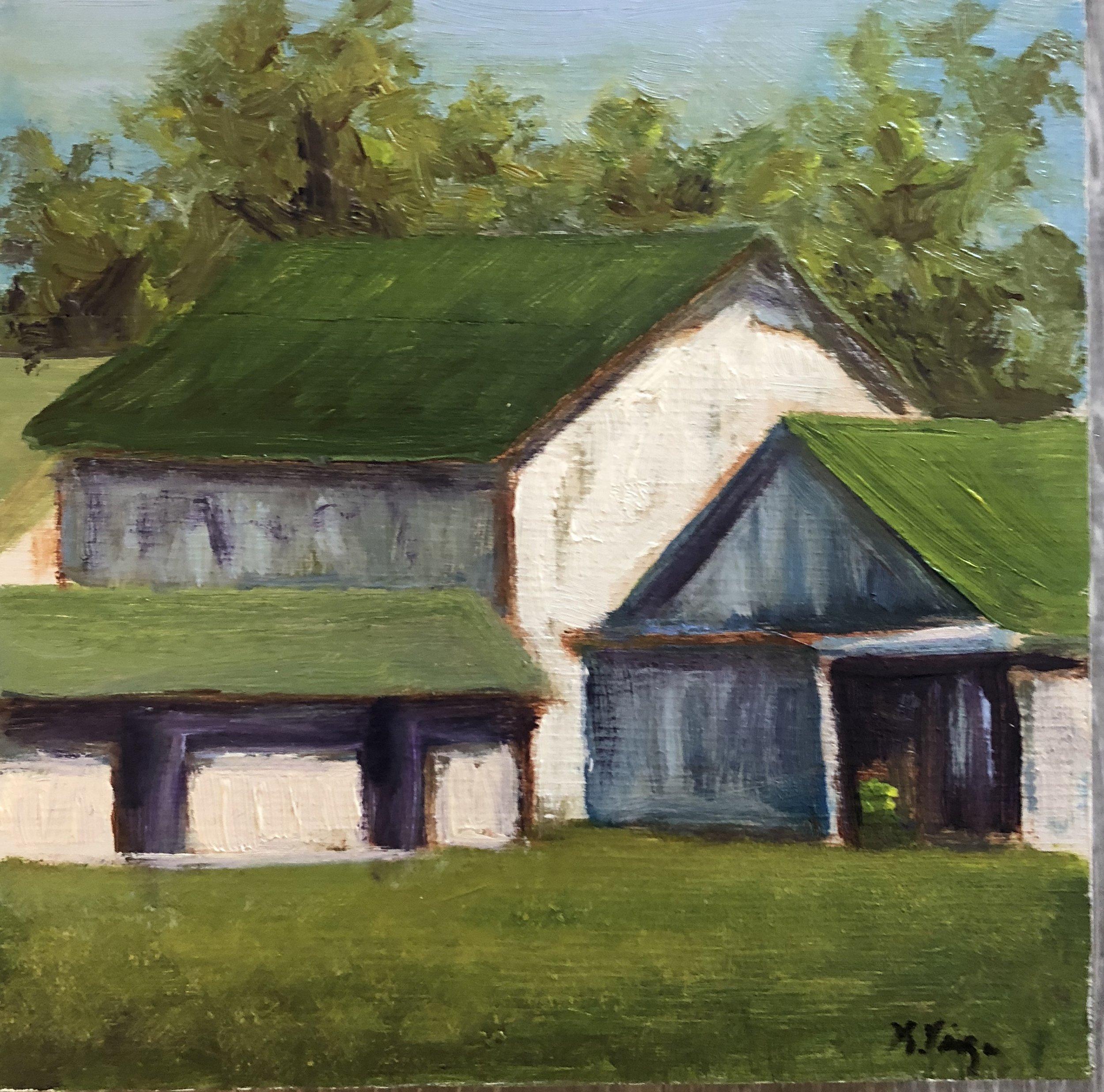 Green Roof Barn
