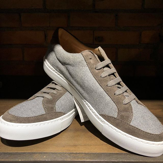 Loro Piana Wool Sneaker & Mixed Media Suede Sneaker Now available from @Eleventy venty_milano  #dtsf #experiencephillipsavenue #menswear