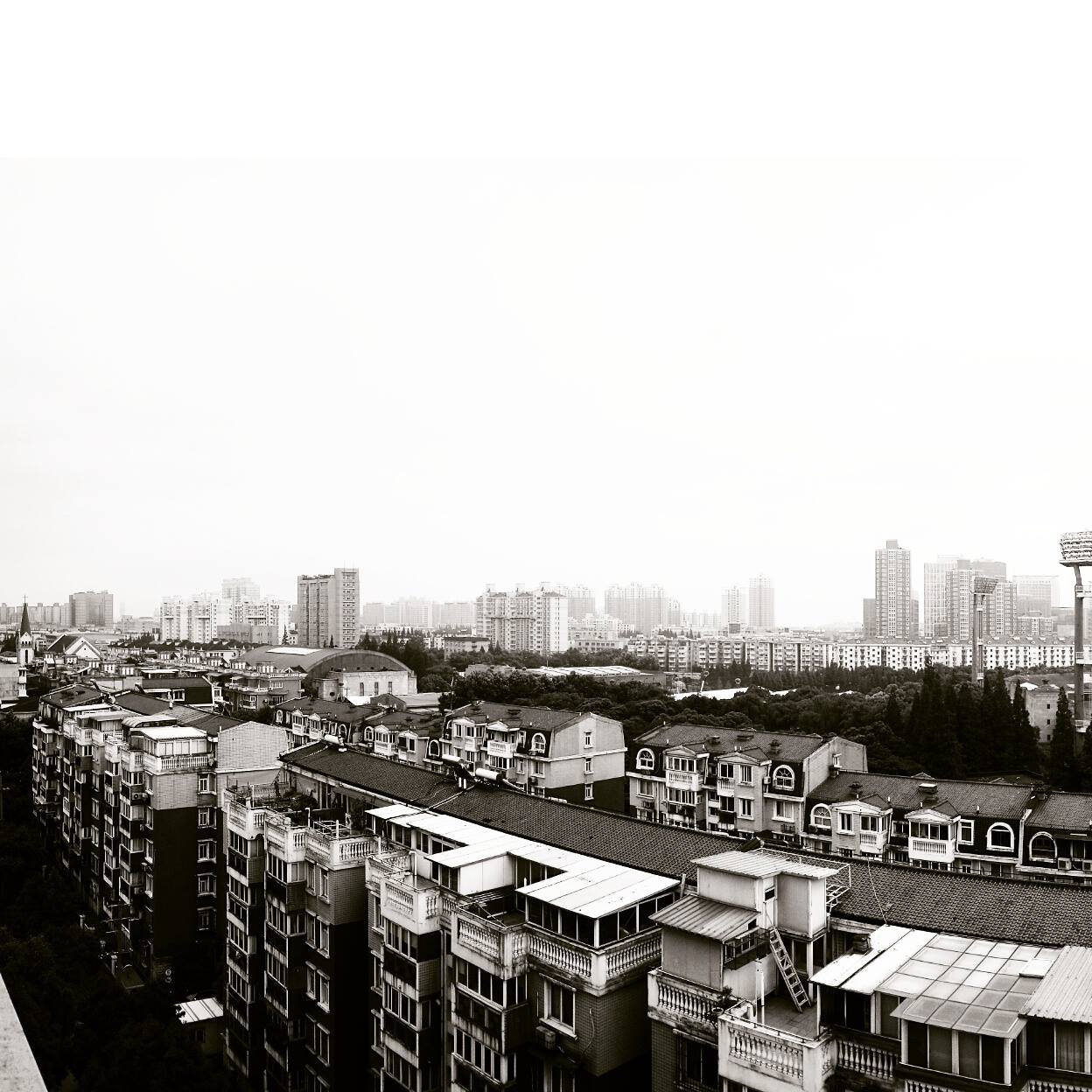 View from my Shanghai apartment