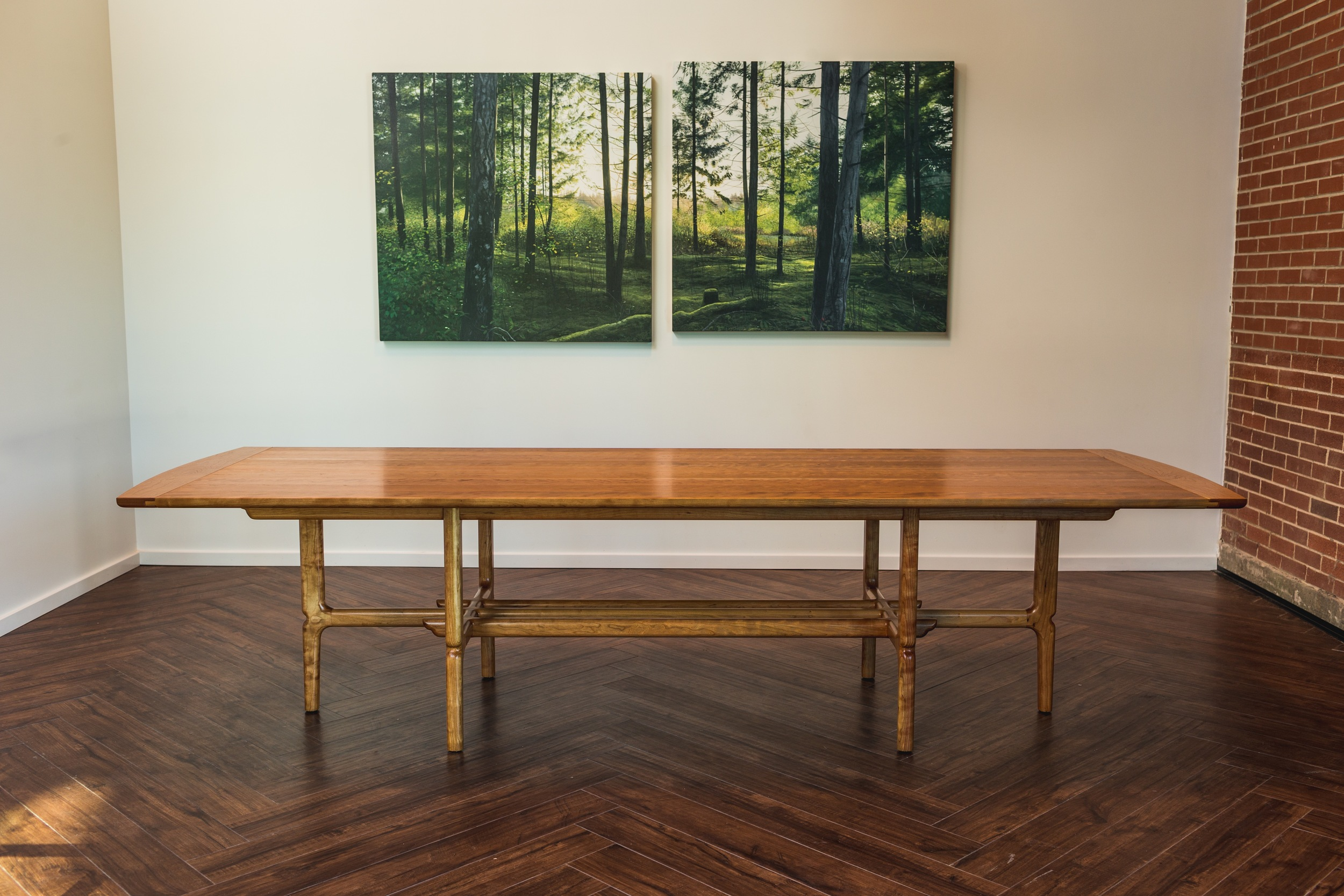 Scripts Dining Table by Kenton Jeske