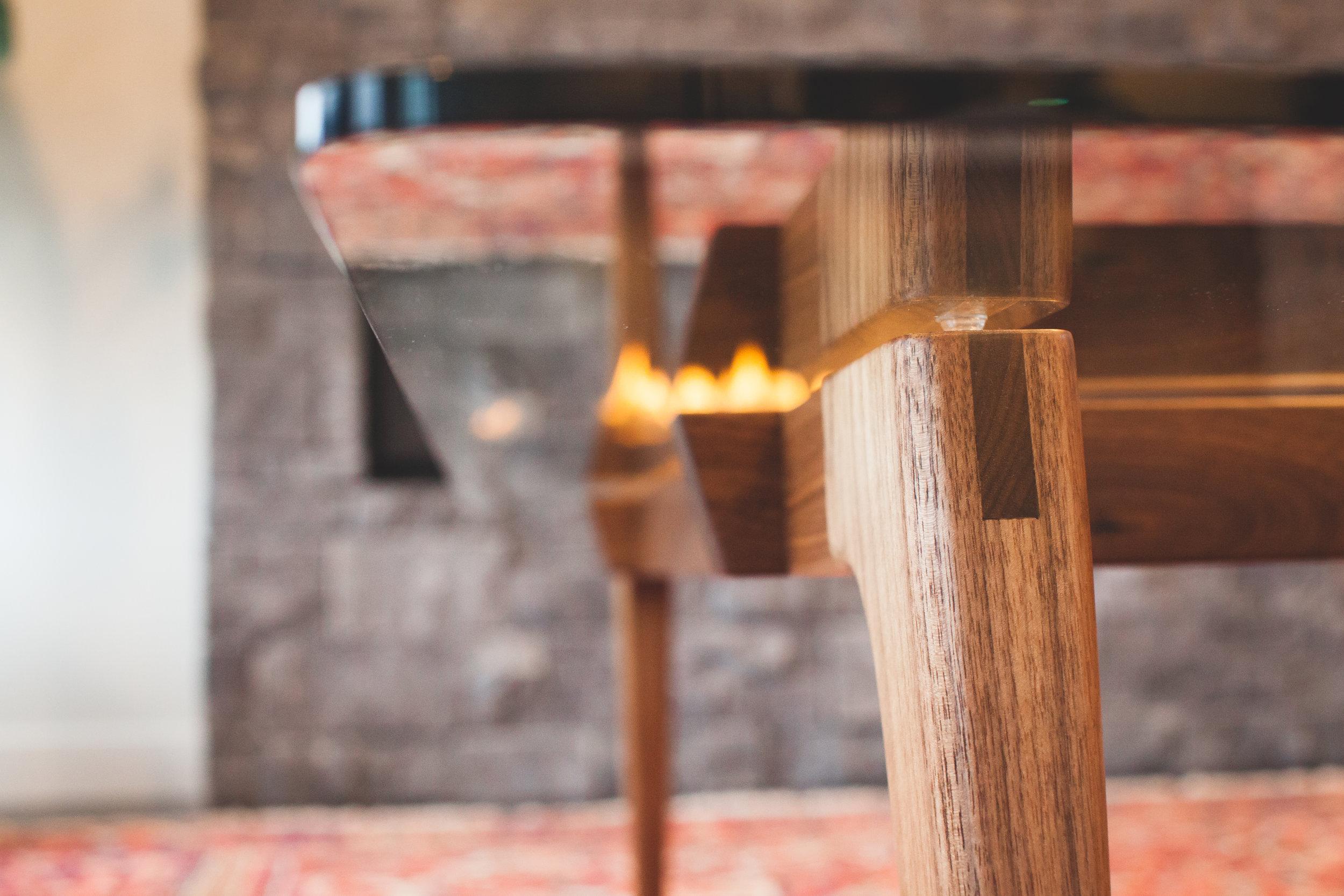Dhillon Coffee table by Kenton Jeske