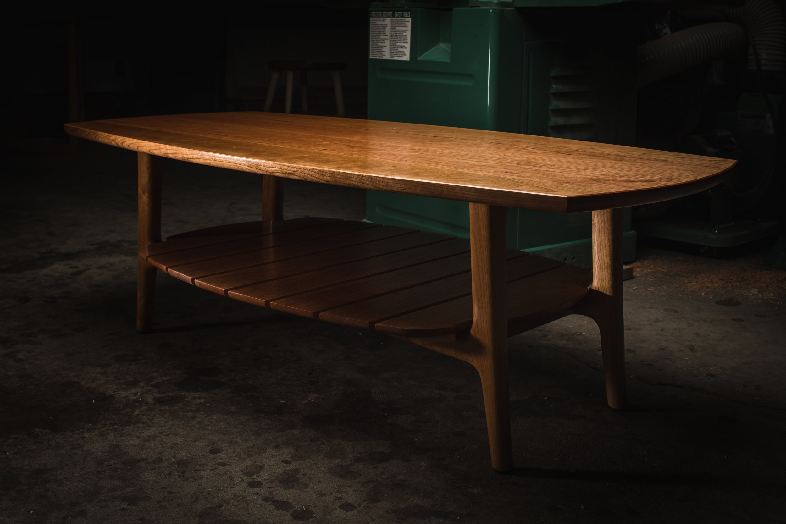 Cherry Coffee Table from the Ceremony Exhibit