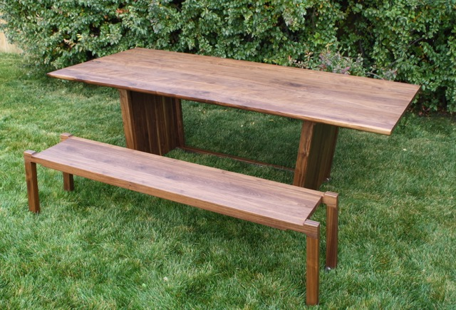 Table and Benches by Kenton Jeske