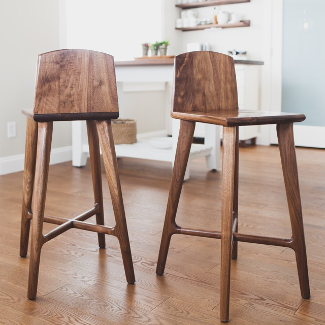 Modern Stool by Kenton Jeske