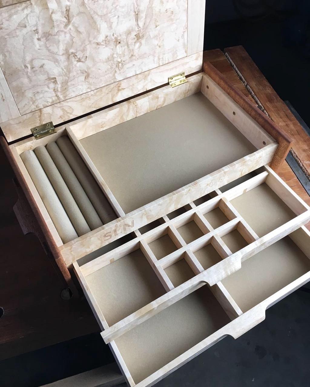 Jewelry Box by Kenton Jeske