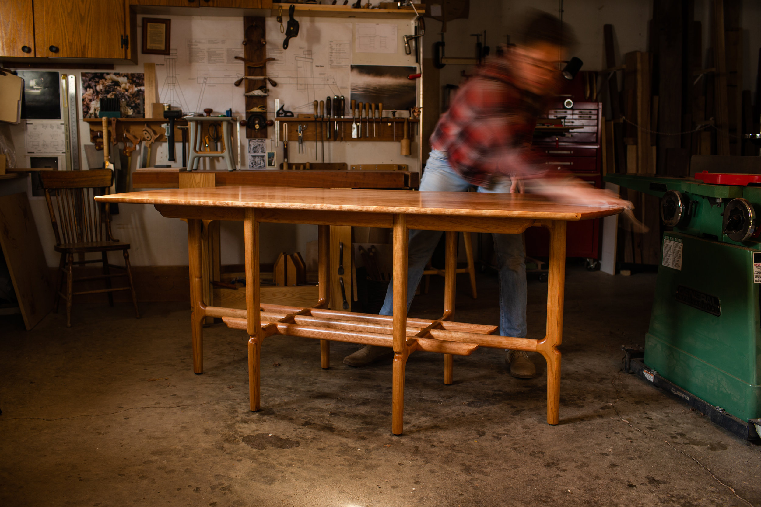 Classic Dining Table by Kenton Jeske