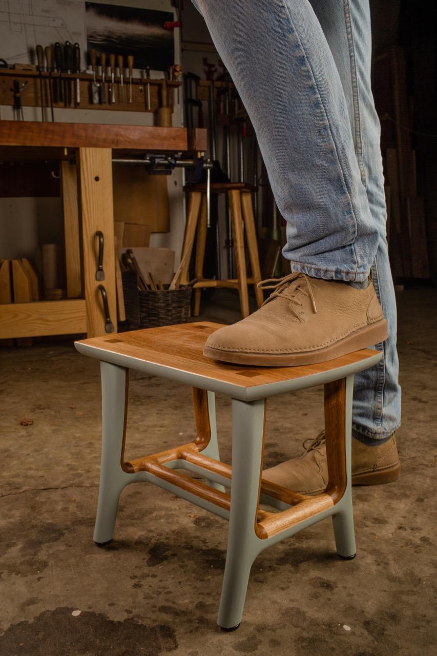 Step Stool by Kenton Jeske