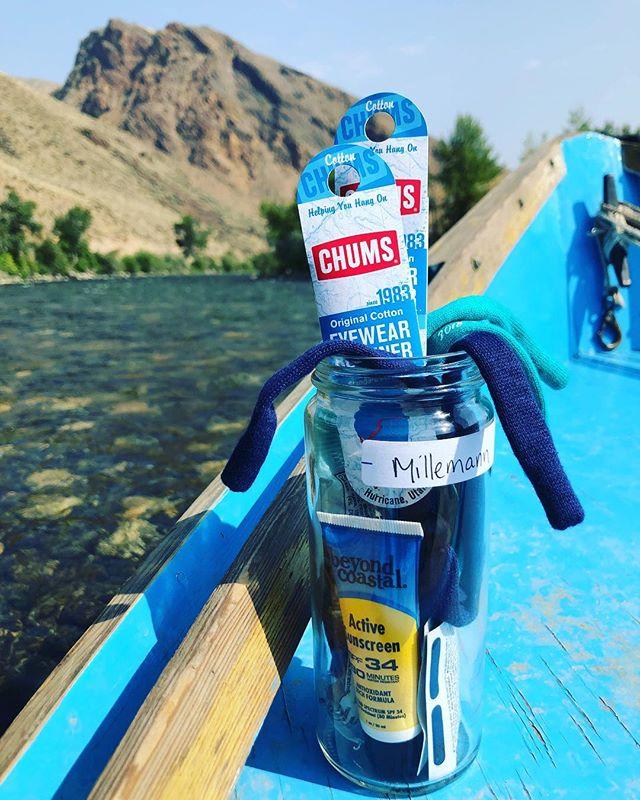 river float essentials, compliments of #campstabel || #river #driftboat #undertheopensky #gonefishing