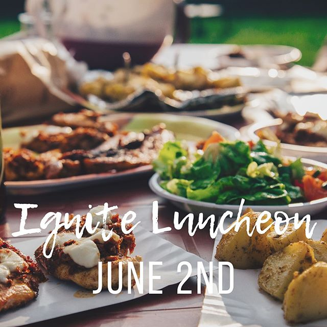 Our desire for food has to be from God 😋. Join us after service for a complementary lunch! Come hang out! #igniterolcc #igniteeats