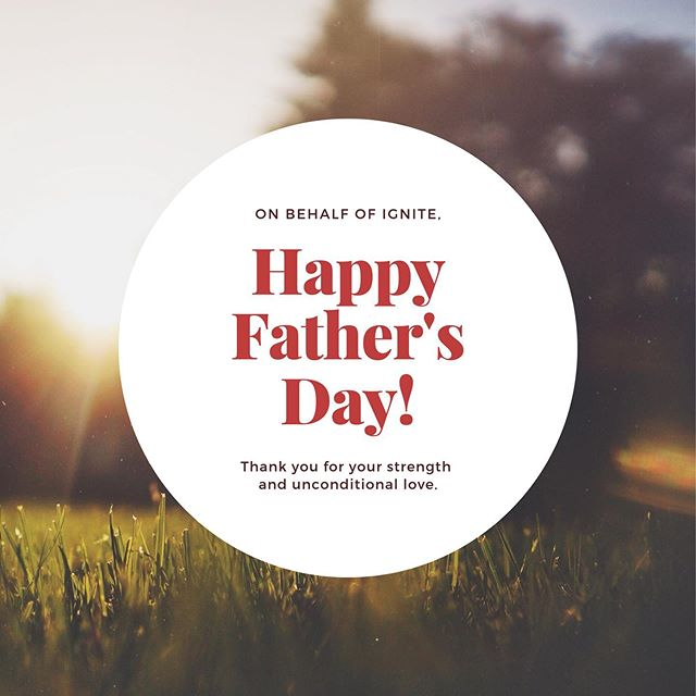 Have an amazing day celebrating with your fathers. We will be celebrating our father in heaven at 11am today. See you all here! 😉 #igniterolcc